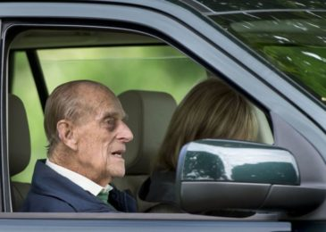 Britain's Prince Philip cautioned by police over seat belt, two days after accident