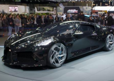 Most costly new car ever: Bugatti sells for $19 million