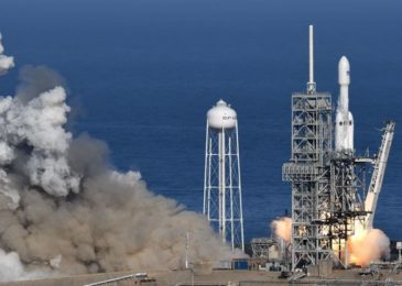 Arabsat 6A: SpaceX Falcon Heavy Prepared To Launch From Space Coast, Will Endeavor Two Side Booster Engine Landings