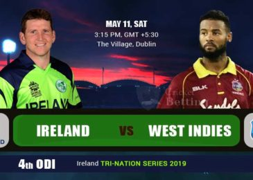 Ireland vs West Indies, Tri-Nation Series 2019 Match 4th: Preview and Playing XI Updates