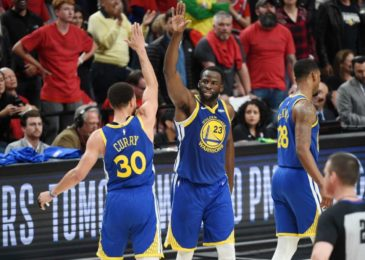Warriors storm into 5th-straight finals with decisive victory of Portland Trail Blazers