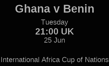 Ghana vs Benin, Africa Cup of Nations Live streaming: Preview, Prediction, Kick Off Time and Team News