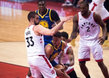 Warriors 106, Raptors 105, Game 5:  Kevin Durant Suffered Achilles Injury