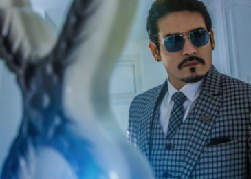Actor Shawar Ali Khan adds to the glamour quotient White Palace, Dhamdachha