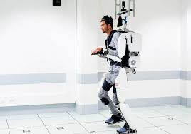 Incapacitated man ready to stroll with mind-controlled exoskeleton suit