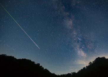 The Skies Tonight a Rare Meteor Shower may Grace