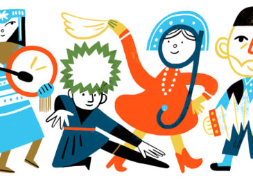 Google Doodle celebrates the Russia National Day 2020