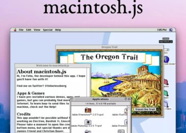 Mac OS 8 is currently an application you can download and install on macOS, Windows, and Linux