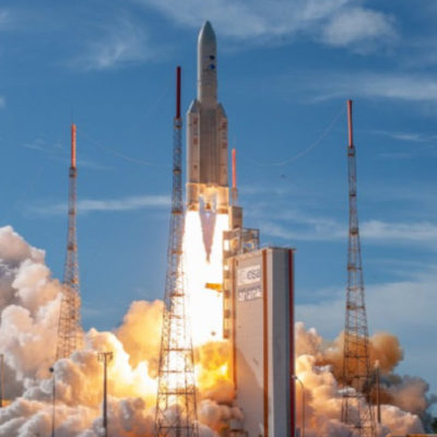 Ariane 5 Rocket Deploys 3 Spacecraft Into Orbit From Europe's Spaceport in French Guiana