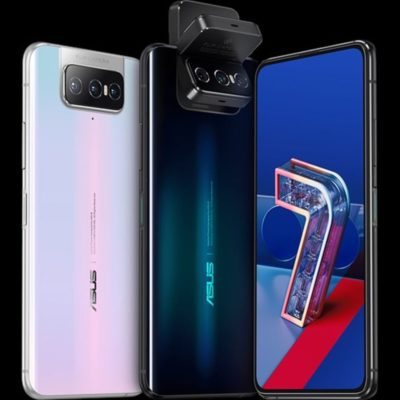 The Asus Zenfone 7 provides a third lens to its flawless flipping camera