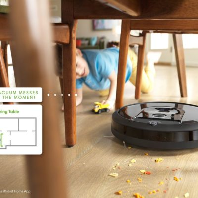 iRobot is providing its vacuum cleaners a new AI-powered brain