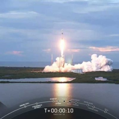 SpaceX dispatches the first south-bound rocket from Florida in decades