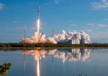 See SpaceX dispatch a Falcon 9 rocket on a record-breaking 6th flight to space