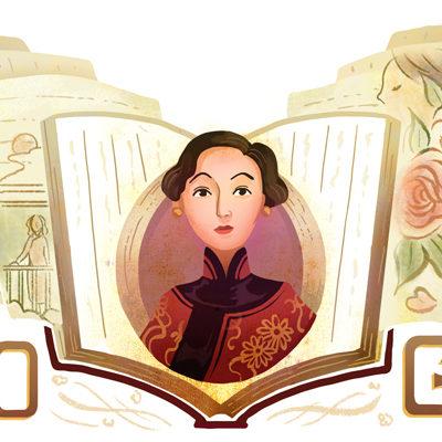Eileen Chang: Google Doodle Celebrates Chinese-born writer and translator's 100th Birthday