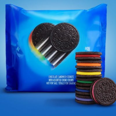 Oreo discharges limited edition rainbow cookie celebrating LGBTQ+ allyship