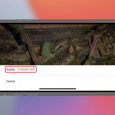 The steps to watch 4K YouTube videos on iPhone, iPad, and Apple TV