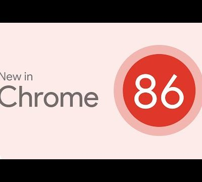 Google Chrome 86 start to roll out with flags for menu icons, back-forward cache, and more