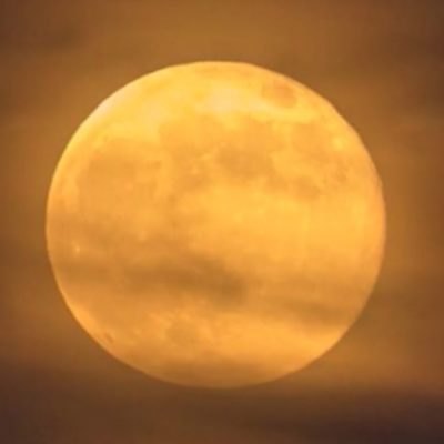 In October Full moons: Harvest moon today night and a rare blue moon on Halloween