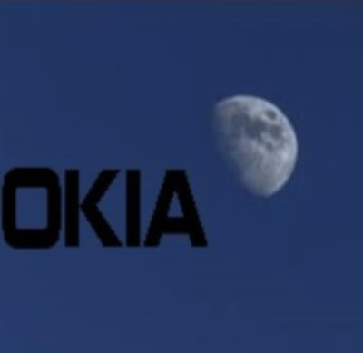 NASA recently give Nokia millions of dollars to update the moon's cell service