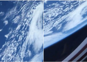 How Earth viewed to astronauts aboard the SpaceX capsule are here