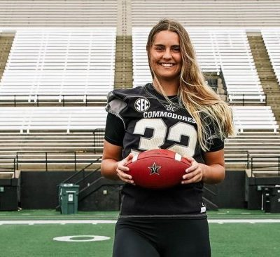Vanderbilt's Sarah Fuller may turn into the 1st woman to play in a Power 5 conference college football match-up on Saturday
