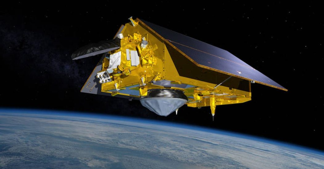 NASA set to launch new satellite to monitor rising sea level