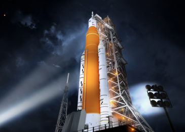 NASA starts amassing the rocket for Artemis moon mission