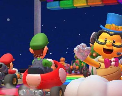 Mario Kart Tour With RMX Rainbow Road 2 Gets A New Year Update
