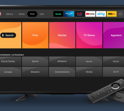 Amazon's updated Fire TV interface includes client profiles and new look
