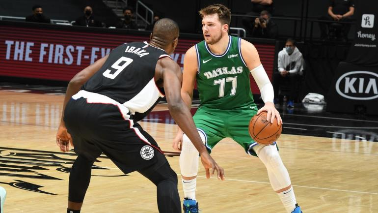 Doncic and the Mavericks record biggest half time lead in National Basketball Association history
