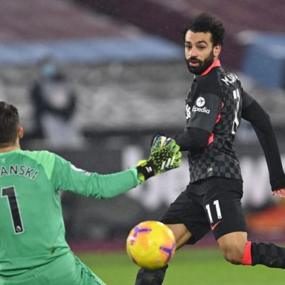 West Ham United vs. Liverpool : Mohamed Salah scores brace to take Liverpool to third