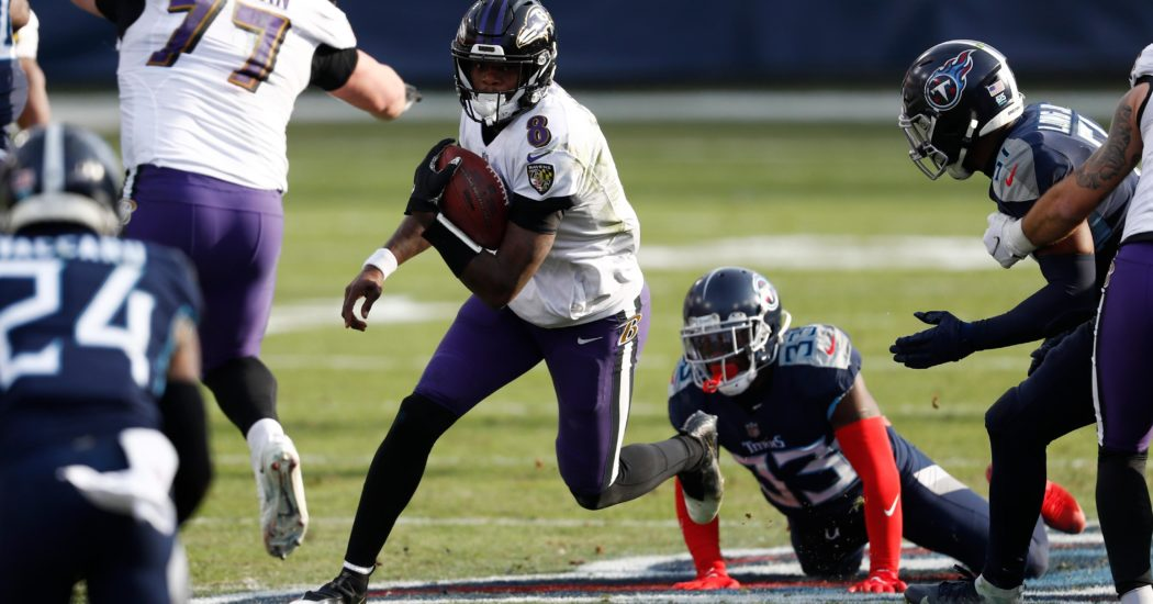 Jackson, Ravens ready to build on noteworthy playoff victory
