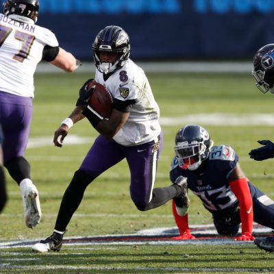 Lamar Jackson leads Baltimore Ravens to NFL playoff revenge win upon Tennessee Titans