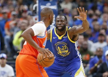 Warriors' Draymond Green ejected in first half against the Knicks