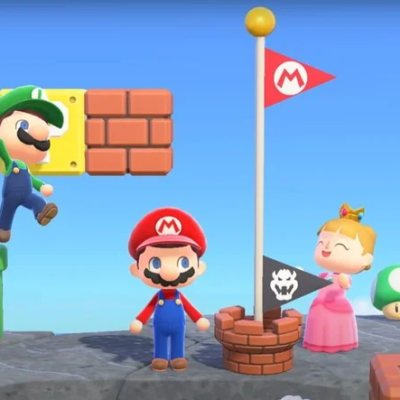 Animal Crossing's Mario update allows you to recreate the Mushroom Kingdom