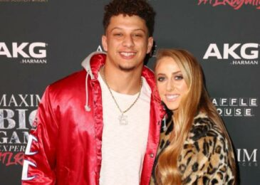 Chiefs' Patrick Mahomes and fiancee Brittany Matthews declares the birth of their first child