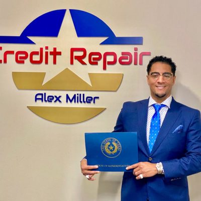 """A bad credit report is nothing that can't be repaired,"" Says Credit Repair Specialist Alex Miller"