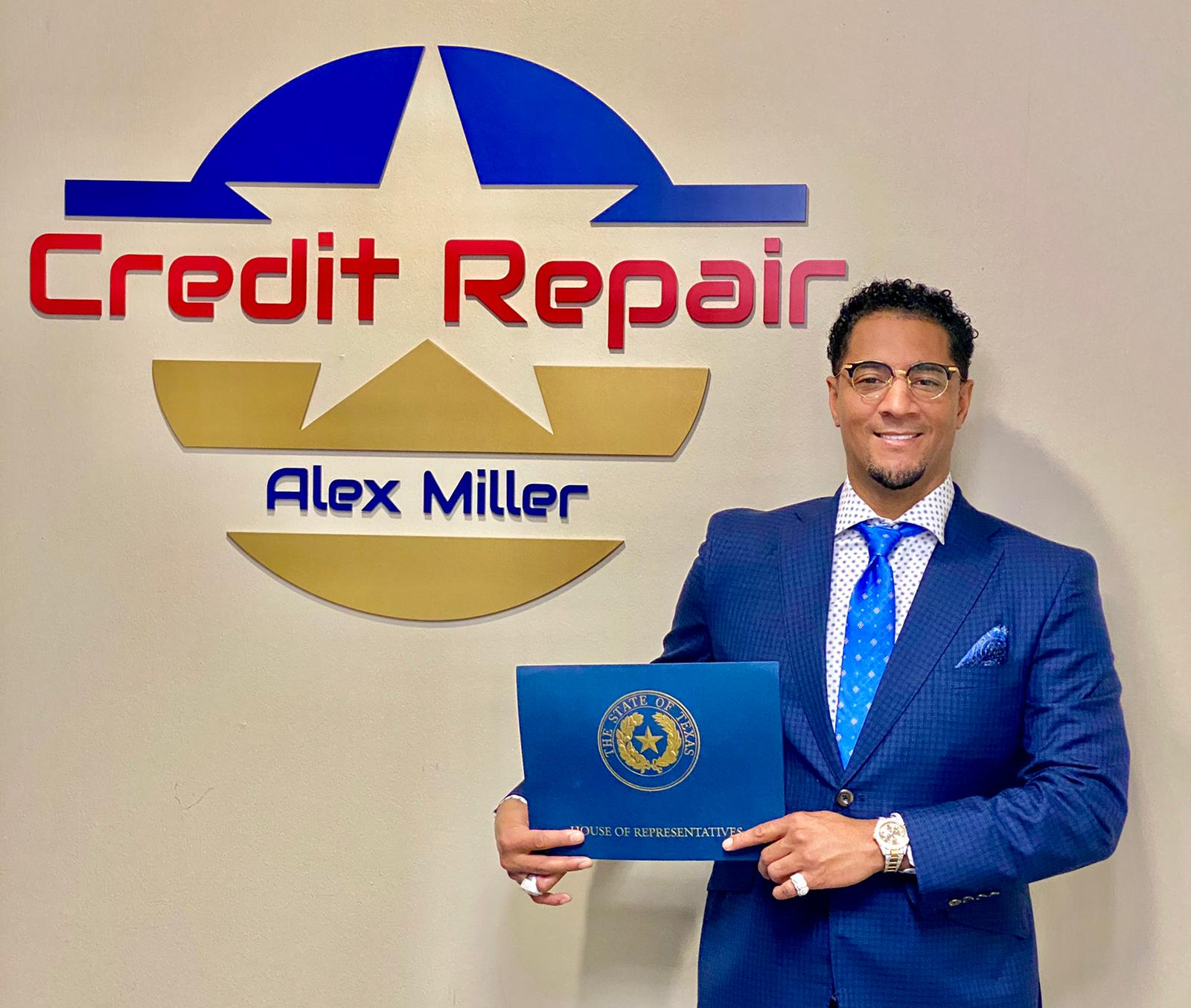 """""""A bad credit report is nothing that can't be repaired,"""" Says Credit Repair Specialist Alex Miller"""