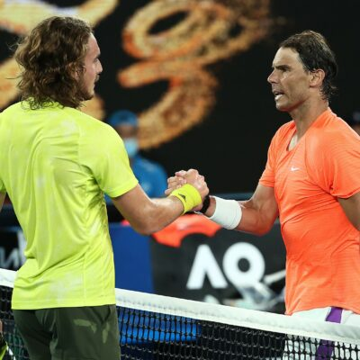For record 21st Grand Slam title, Rafael Nadal loses bid with Australian Open loss to Stefanos Tsitsipas