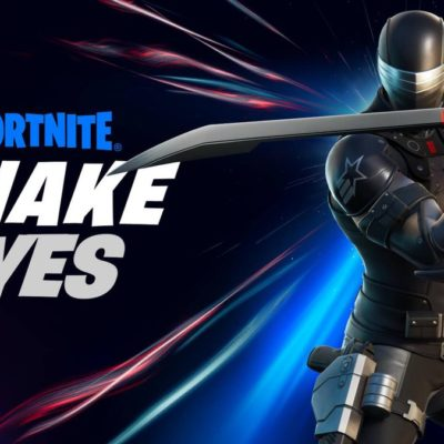 'Fortnite' receives a 'GI Joe' character with a coordinating activity figure