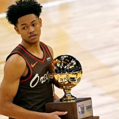 NBA All-Star Game 2021: Anfernee Simons wins the Slam Dunk Contest