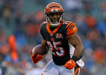 Bengals release RB Giovani Bernard after eight seasons