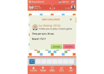 Rackword – A Perfect Game to Increase Your Words Power